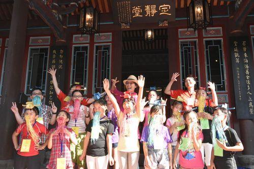 105年07月 林園傳藝小戲臺-穿越古今學唱戲