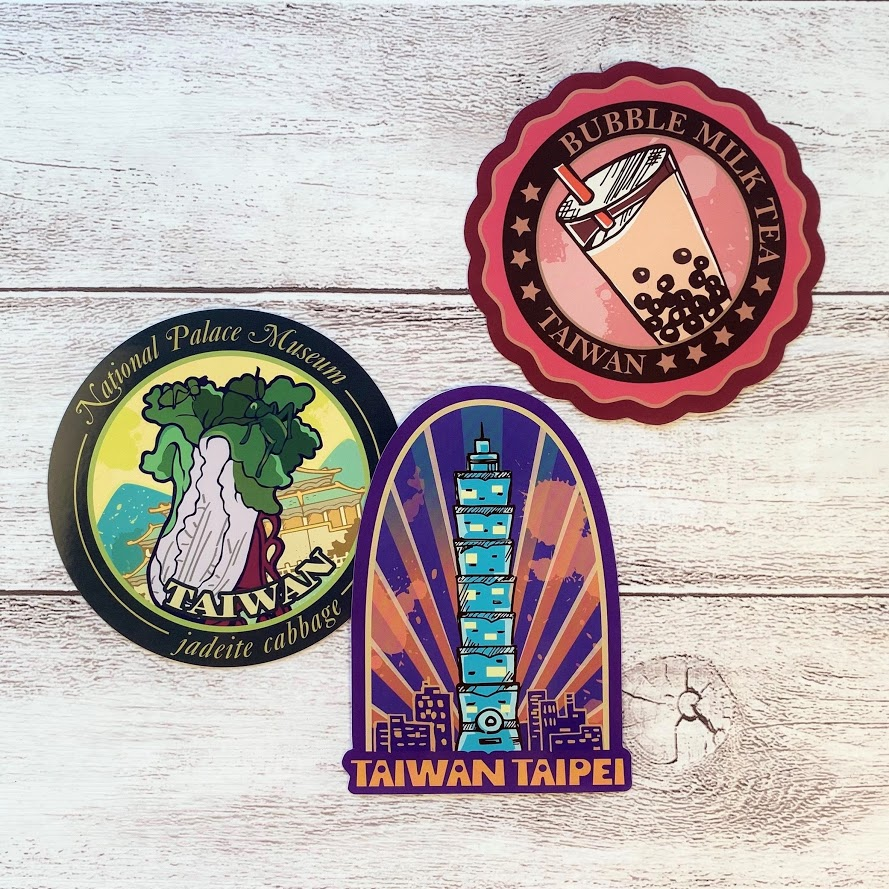 台灣旅行貼紙組及系列商品