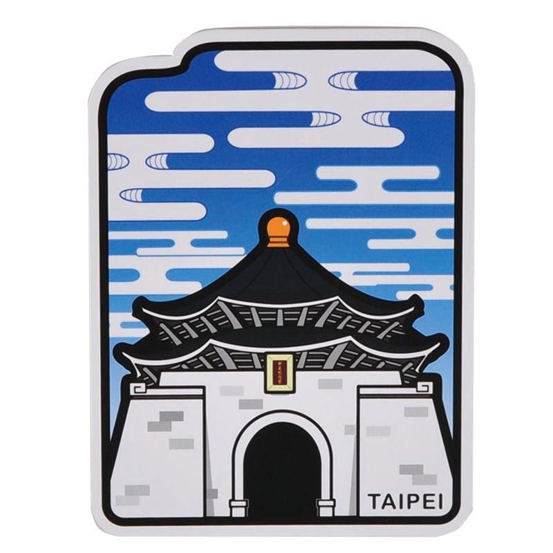 中正紀念堂旅行明信片及系列商品